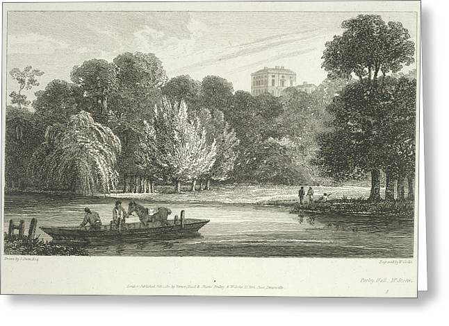 The River Thames Greeting Card by British Library