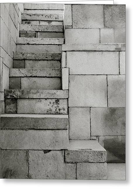 The Stairway Greeting Card by Shaun Higson
