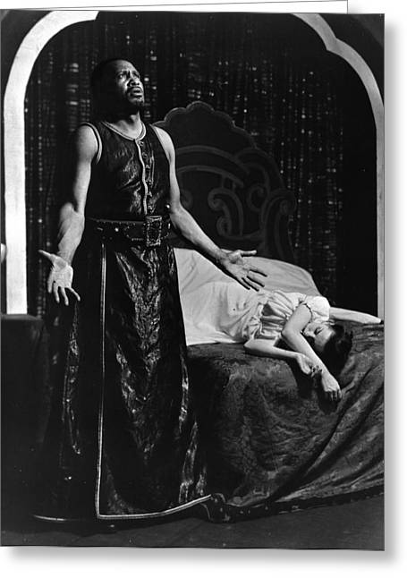 Theatre Othello, 1943 Greeting Card