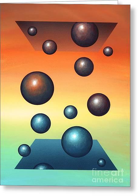 Thermodynamics, Conceptual Artwork Greeting Card