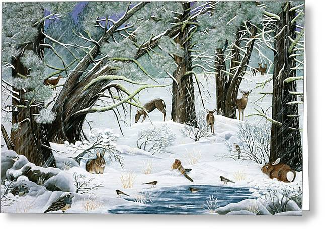 They Said It Wouldn't Snow Greeting Card