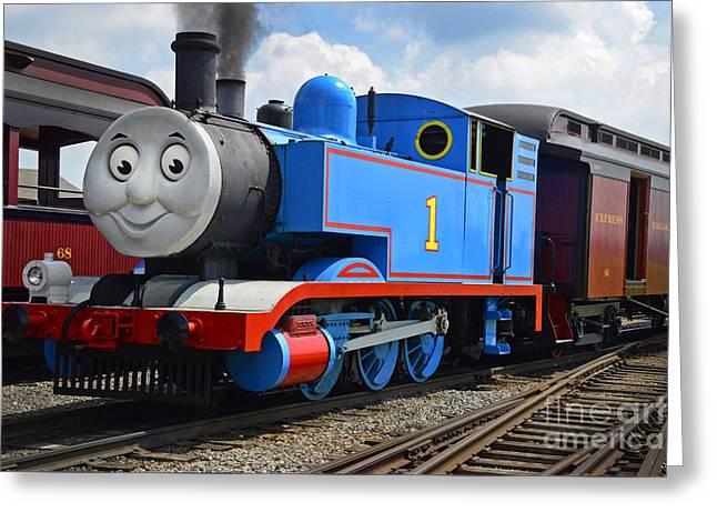 Thomas The Engine Greeting Card