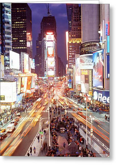 Times Square, Nyc, New York City, New Greeting Card