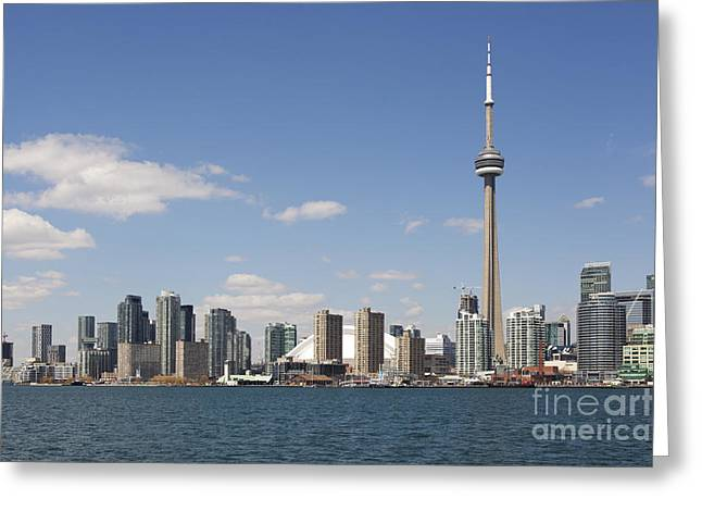 Toronto City Skyline Greeting Card