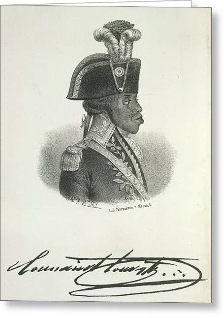 Toussaint Louverture Greeting Card by British Library