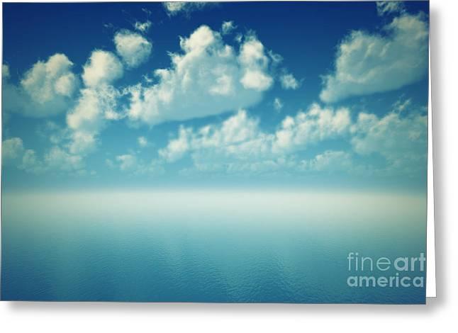Tranquil Ocean Greeting Card