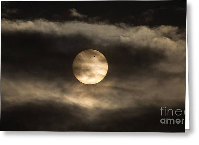 Transit Of Venus, 2012 Greeting Card