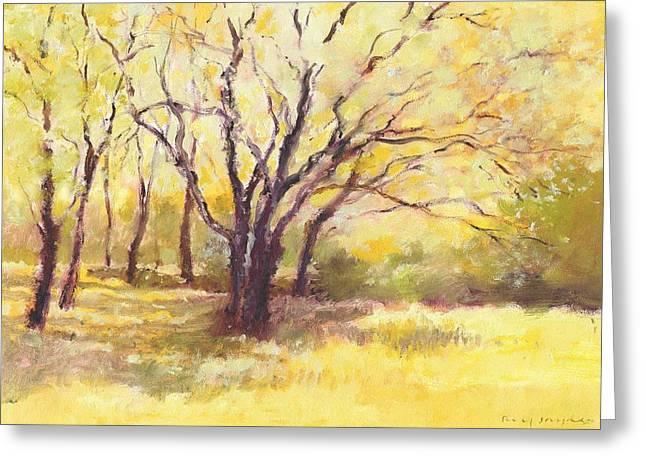 Trees2 Greeting Card