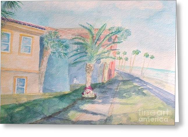 Tropical Breeze Greeting Card by Craig Calabrese