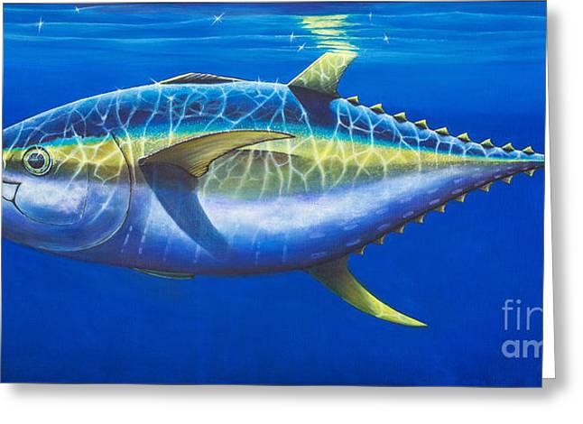 Tuna At Twelve Greeting Card