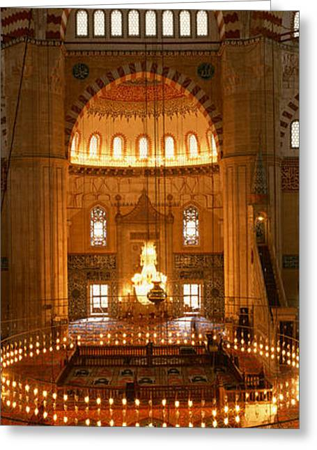 Turkey, Edirne, Selimiye Mosque Greeting Card by Panoramic Images