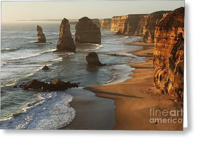 Twelve Apostles Australia Greeting Card by Bob Christopher