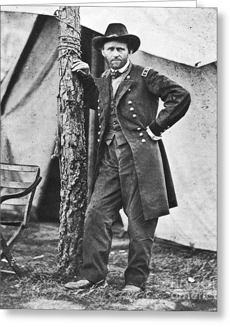 Ulysses S Grant Greeting Card by American School