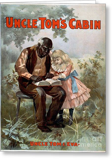Uncle Toms Cabin, C1899 Greeting Card by Granger