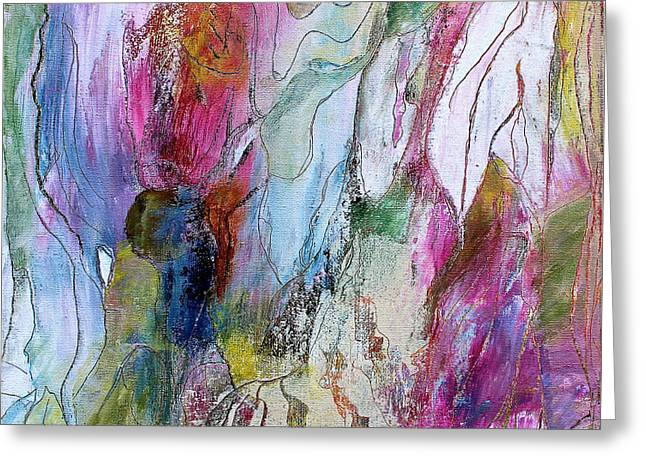 Under The Ice Of Venus Greeting Card