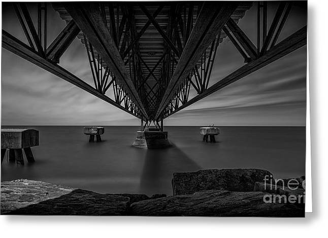 Under The Pier Greeting Card by James Dean