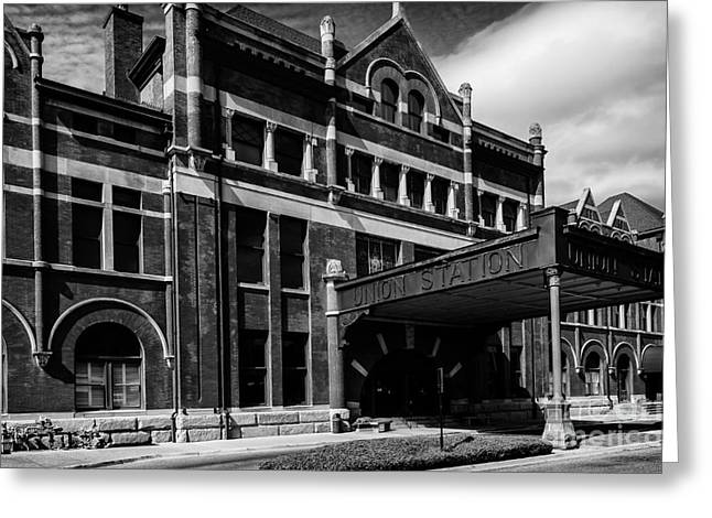 Union Station In Montgomery Alabama Greeting Card by Danny Hooks