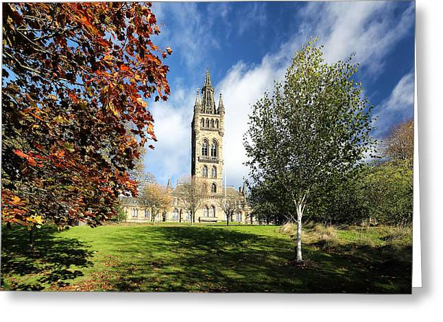 University Of Glasgow Greeting Card