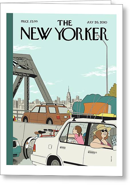 New Yorker July 26th, 2010 Greeting Card