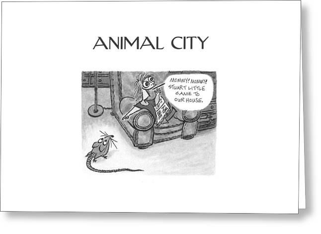New Yorker June 5th, 2000 Greeting Card by Arnold Roth