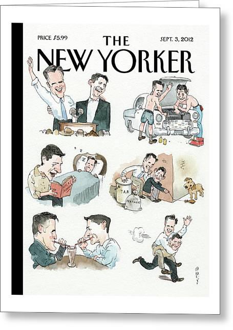 New Yorker September 3rd, 2012 Greeting Card