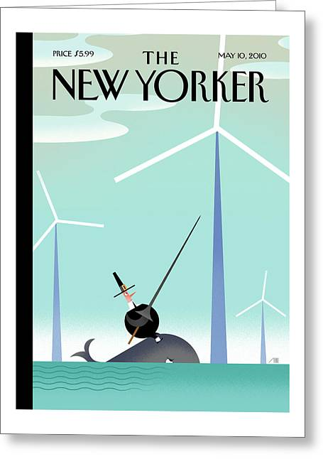 New Yorker May 10th, 2010 Greeting Card