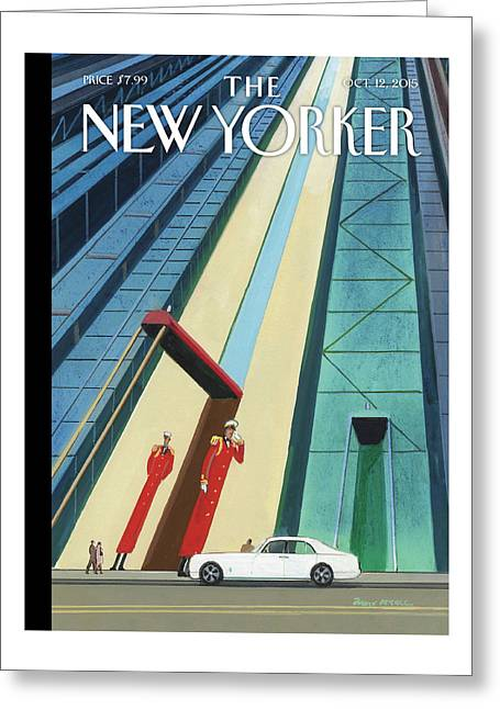 New Yorker October 12th, 2015 Greeting Card