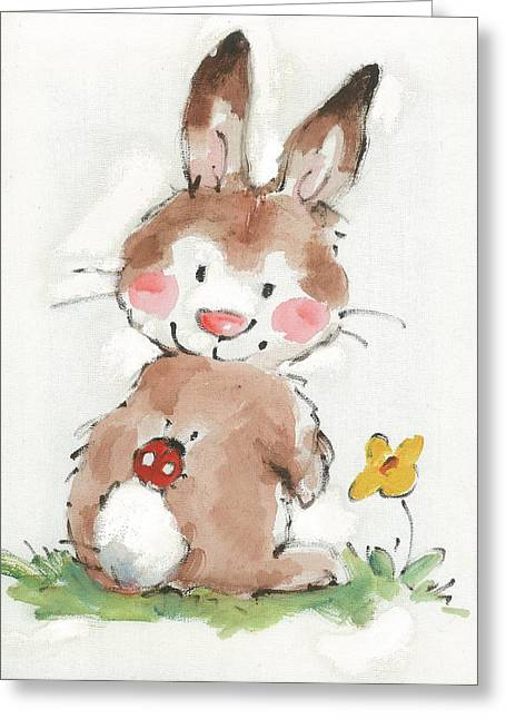 Untitled Greeting Card by Diane Matthes