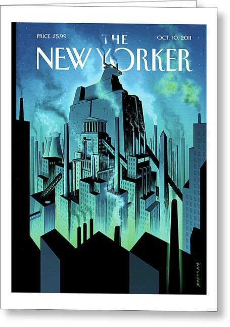New Yorker October 10th, 2011 Greeting Card