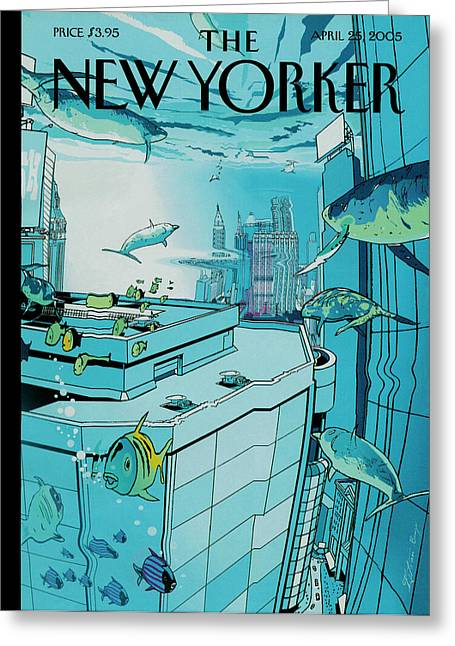 New Yorker April 25th, 2005 Greeting Card