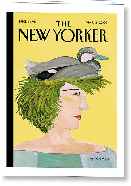 New Yorker March 14th, 2005 Greeting Card