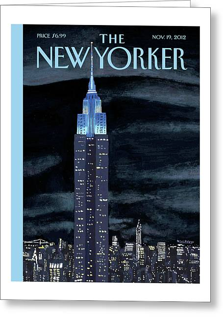 New Yorker November 19th, 2012 Greeting Card