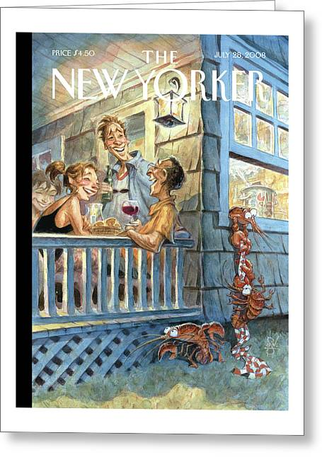 New Yorker July 28th, 2008 Greeting Card