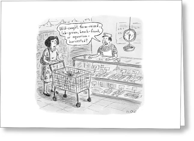 New Yorker November 7th, 2016 Greeting Card