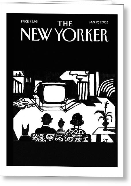 New Yorker January 17th, 2005 Greeting Card