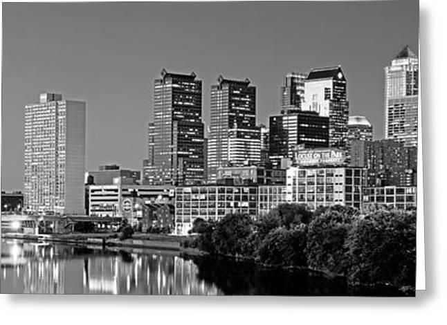 Us, Pennsylvania, Philadelphia Skyline Greeting Card