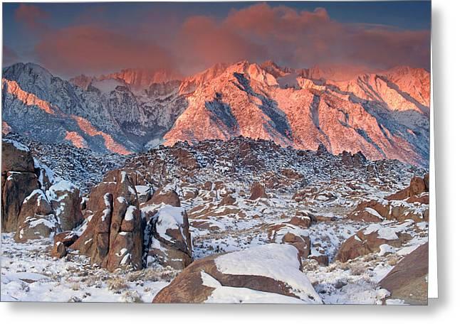 Usa, California, Eastern Sierra Greeting Card by Jaynes Gallery