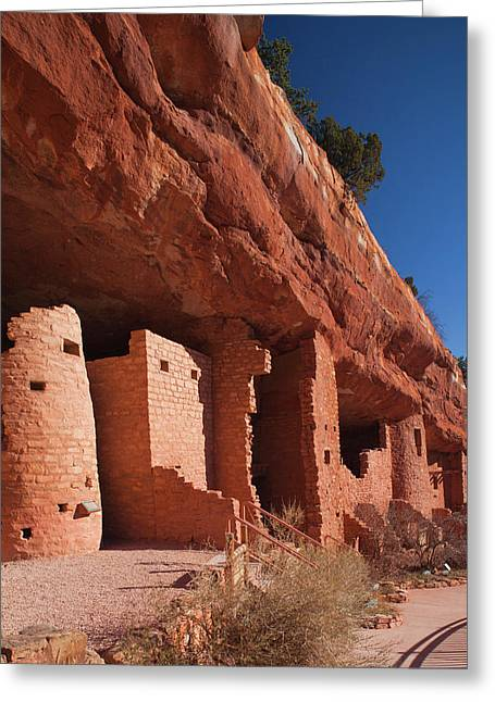 Usa, Colorado, Manitou Springs, Manitou Greeting Card