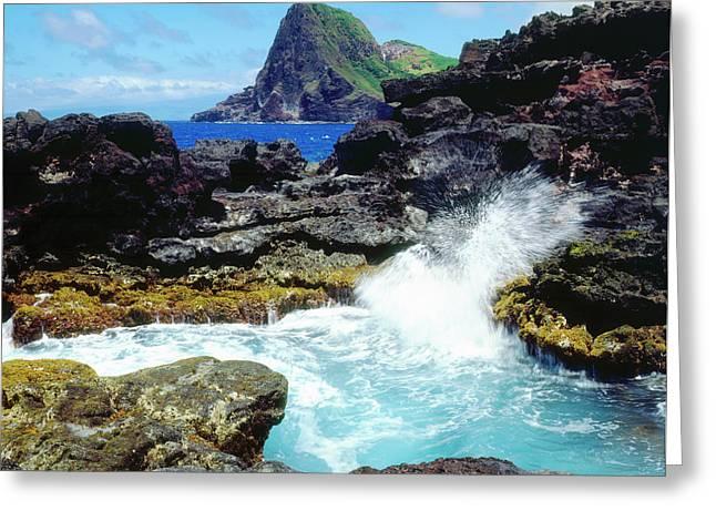 Usa, Hawaii, Maui Greeting Card by Jaynes Gallery