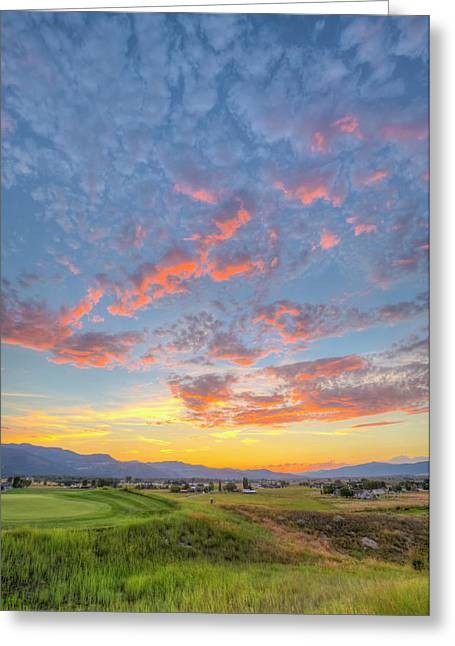 Usa, Montana, Missoula Greeting Card
