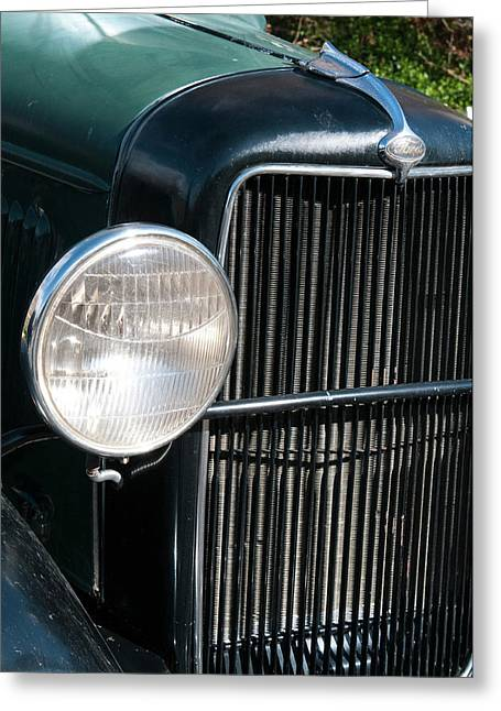 Usa, Nevada A 1934 Model T Ford Greeting Card by Michael Defreitas