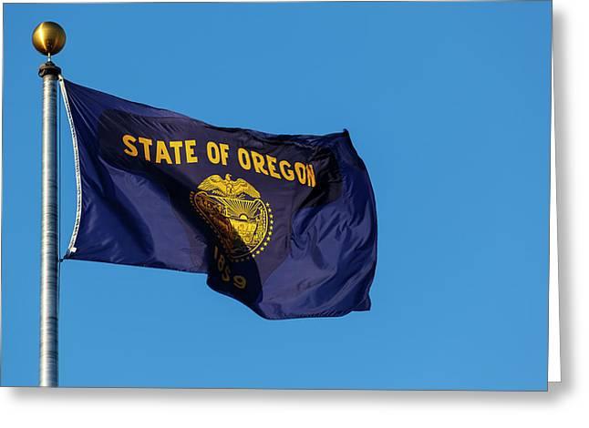 Usa, Oregon, Salem, State Capitol State Greeting Card