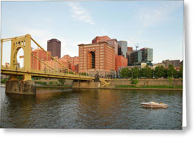 Usa, Pennsylvania, Pittsburgh Greeting Card