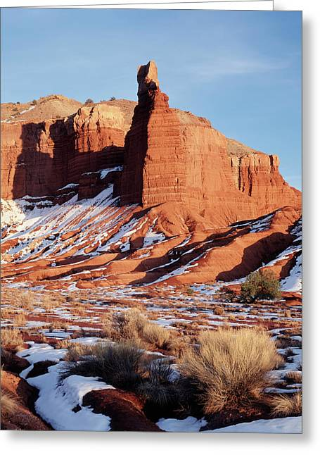 Usa, Utah, Capitol Reef National Park Greeting Card by Scott T. Smith