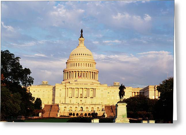 Usa, Washington Dc, Capitol Building Greeting Card