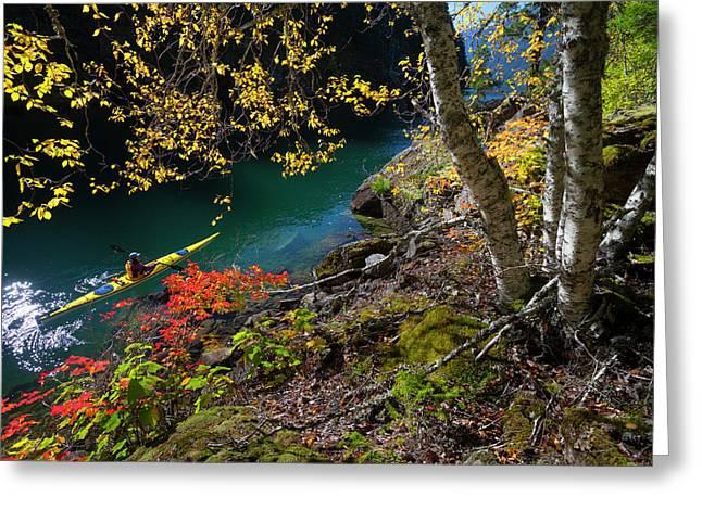 Usa, Washington State, North Cascades Greeting Card by Gary Luhm