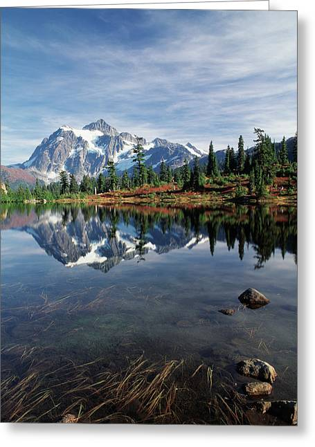 Usa, Washington State, North Cascades Greeting Card by Stuart Westmorland