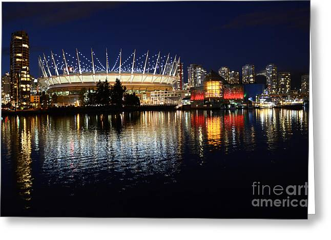 Vancouver British Columbia 3 Greeting Card