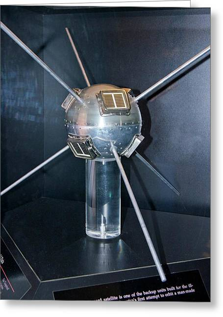 Vanguard Satellite. Greeting Card by Mark Williamson
