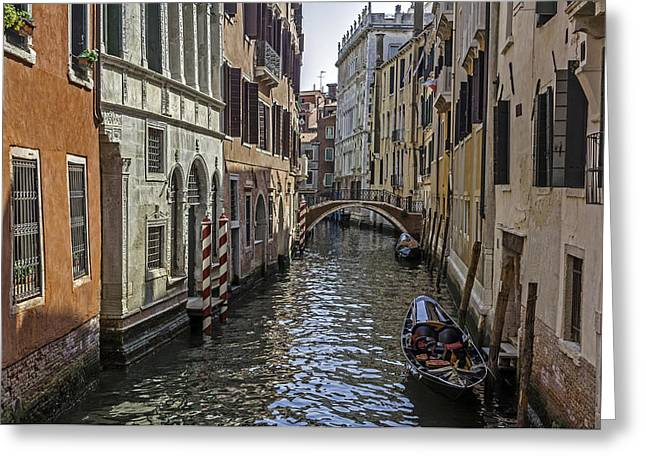 Venice. Italy. Greeting Card